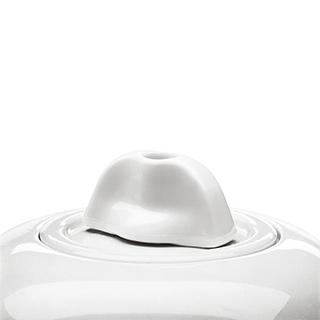 Porzellan Weiß