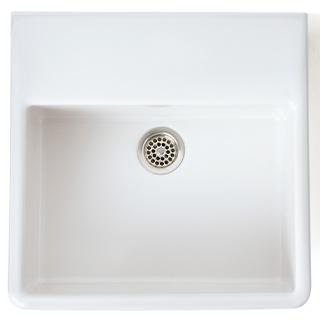Waschbecken Steingut